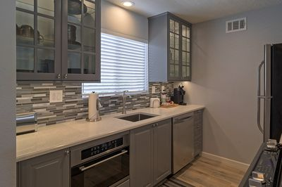 Brand new kitchen with all the ammenities