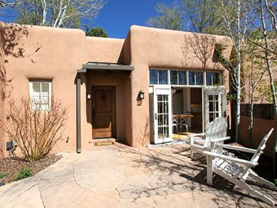 Photo for Casa de Madre, luxury casita off Acequia Madre!