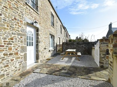Photo for Beautifully refurbished, authentic home in a quiet village bordering the coast