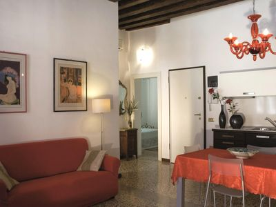 Photo for Charming canal view apart few steps from San Marco Square, quiet hidden corner