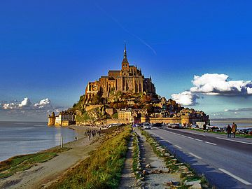 Pontorson-Mont-St-Michel Station, France