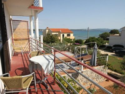 Photo for Two bedroom apartment near beach Tkon, Pašman (A-8458-b)