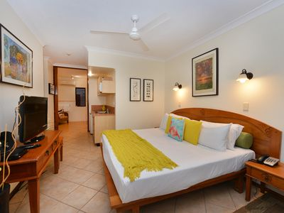 Photo for Balinese inspired apartment within walking distance to the heart of Port Douglas