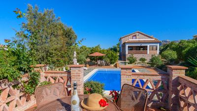 Photo for 3-bedroom holiday villa with lovely views in El Gastor