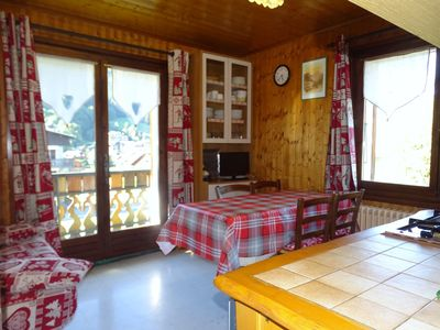 Photo for Apartment 6 people at the center of the village with views of the mountains