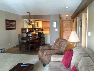Photo for Great Location! 2 BDRM/2 BATH condo. Easy walk to Main St. and ski lifts