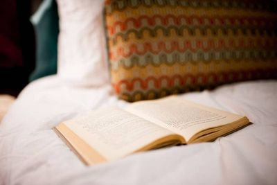 Our beds are so comfortable that you can finally catch up on that book you were meaning to read
