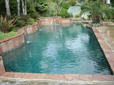 WONDERFUL 50 FT. LONG PRIVATE POOL IN BACKYARD