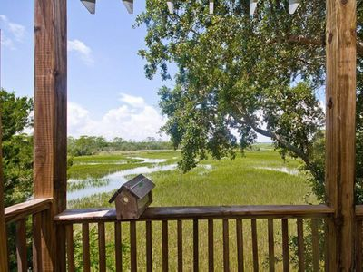 Serene, Pet-friendly, Townhome with peaceful marsh views