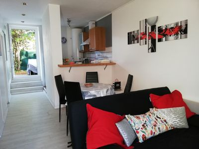 Photo for Studio for 4 people with enclosed garden in private residence - Ocean 3 km