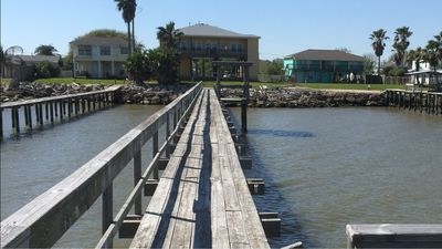 Photo for Waterfront Property with a 300ft Pier w/ Fishing Lights