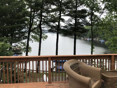 Photo for Cozy Cottage in the woods on Pentwater Lake
