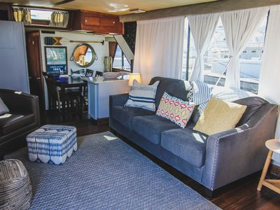 Photo for Spacious 51' Yacht Downtown! Remodeled in 2019!