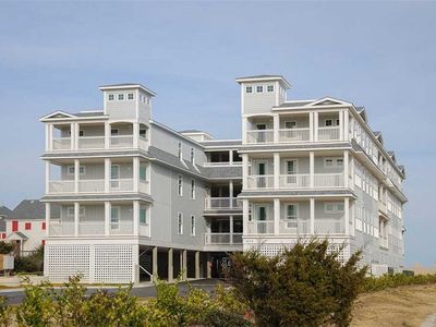 Photo for Seven Cs 402: Top level condo, oceanfront, community pool, private community walkway to the beach.