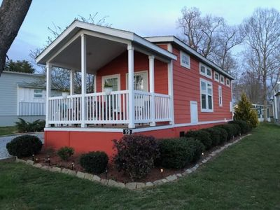 Photo for Tiny House ~WIFI ~ Swimming Pool ~ Simple-Life Community ~ 2 Bedroom ~ Flat Rock ~ Hendersonville ~