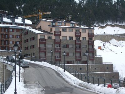 Photo for First Line Mountain View Family Apartment In Soldeu. Wi-fi.
