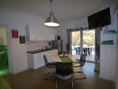 Photo for Air-conditioned Holiday Apartment with Rooftop Terrace, Garden, Playground and Wi-Fi