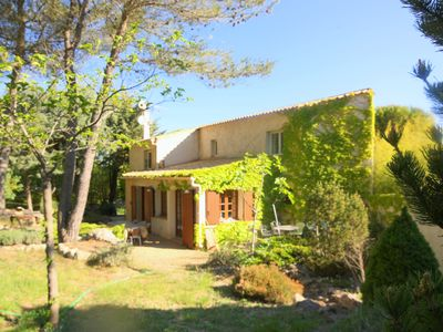 Photo for Super Family Provencal farmhouse Near Aix Villa with Pool & View up to 12 guests