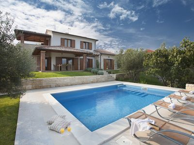 Photo for Luxury Villa Maria with a panoramic Seaview and a swimming pool,near the sea****