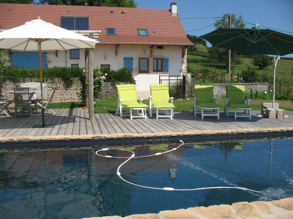 Nice Newly Renovated Luxury Rural Gite With Heated Pool And Stunning Views