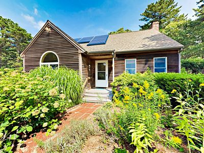 Photo for Serene Wooded 4BR w/ Spacious Deck & Rail Trail Access - Near Beach!