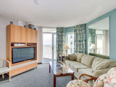 Photo for Ocean view condo in the fantastic Seawatch Resort, great amenities & location