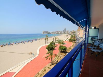 Photo for 4 bedroom Apartment, sleeps 6 with Air Con, FREE WiFi and Walk to Beach & Shops