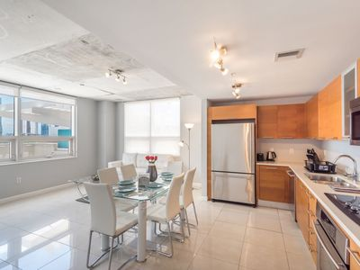 Photo for Spectacular Loft Style 2 bedroom With Balcony