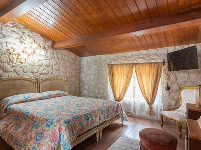 Photo for Mediterranean Villa with Wi-Fi, Air Conditioning, Jacuzzi and Pool