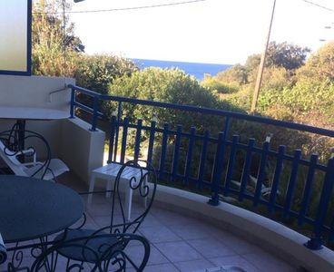 Photo for 4pers Saint Raphael sea view 100m from the beaches garage