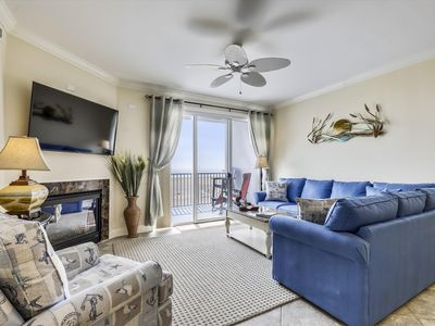 Photo for Belmont Towers 305 - Oceanfront on Boardwalk, Sleeps 9, Fantastic Views with a Pool!
