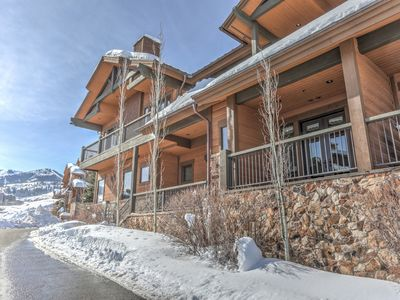 Photo for Beautiful Condo, Private Hot tub close to Canyons Village