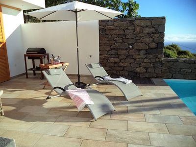Photo for Casa da Bica,two bedrooms,two bathrooms,beautiful seaview Swimming pool,