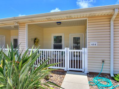 Photo for NEW! Inviting, dog & family friendly home w/shared pool - close to the beach