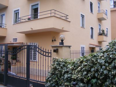 Photo for LAVENDER ROOM WITH BALCONY IN APARTMENT NEAR SAN PIETRO up to TWO PEOPLE
