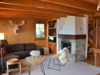 Photo for Large chalet located at the entrance of the village of St-Luc