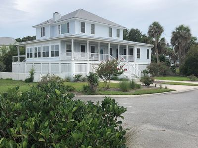 Photo for Gorgeous OCEAN Views and steps to private boardwalk!!