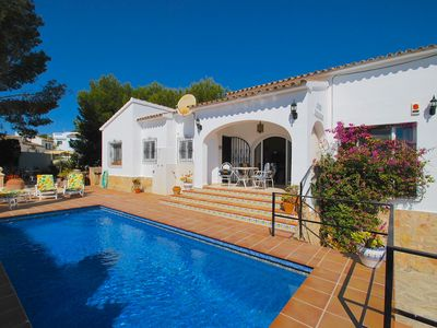 Photo for Casa Bermuda in Moraira Holiday home with private pool in a central location