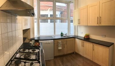 Ample Kitchen Facilities including a dishwasher