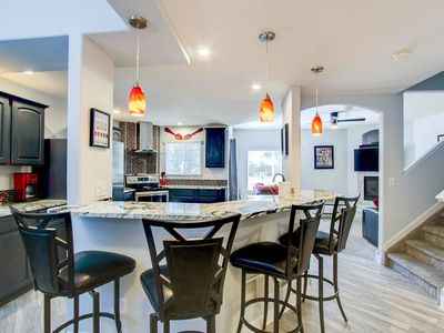 Photo for A Timeless Getaway! 2200 sq/ft 2+ bedroom, 2.5 bath town townhome