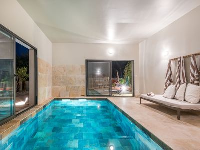 Photo for Villas Imprint: Villa Celestine 10 pers. heated indoor pool
