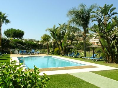Photo for 3 bedroom Villa, sleeps 10 in Riviera del Sol with Pool, Air Con and WiFi