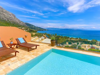 Photo for Villa Renata Gold: Fantastic villa located above Barbati Beach, sleeps 4, WiFi