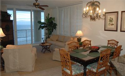 Photo for Beautiful Condo with Wrap Around Deck and Gulf Front View