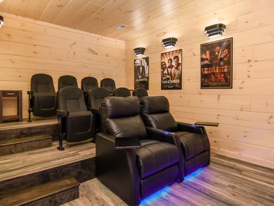 Photo for BRAND NEW - INTRODUCTORY RATES - MOVIE ROOM, GAME ROOM, HOT TUB & AMAZING VIEWS!