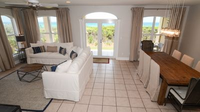 Photo for Newly Furnished Gulf Front Condo Steps From Beach Access & Resort Pool