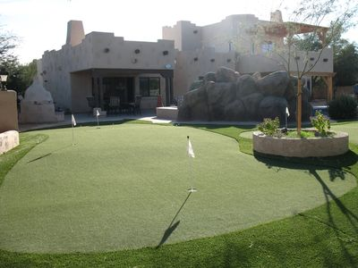 Photo for Paradise Valley/Scottsdale Golf House. NEW! Personal Pickle Ball court.