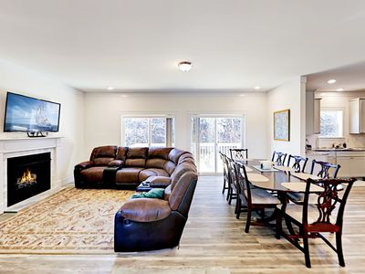 Living Room - Welcome to Weaverville! Your rental is professionally managed by TurnKey Vacation Rentals.