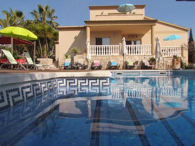 """Photo for Villa """"Las Bocharas"""" with pool in the hills near Sitges (13 km from the beach)"""