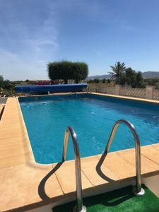Photo for Stunning Holiday Home at Villa Almendricos with Private Pool and Mountain Views